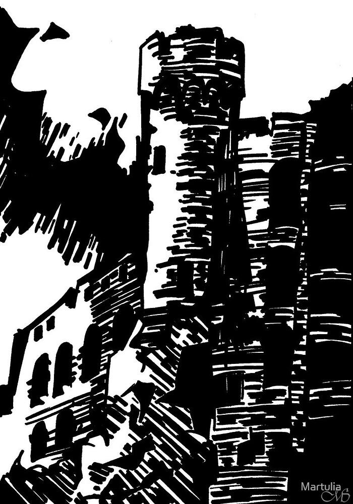 Castle - Ogrodzieniec by Martulia