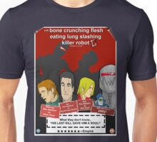 the bone crunching flesh eating lung slashing killer robot 2 Unisex T-Shirt