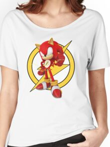 Sonic the Flash-Hog Women's Relaxed Fit T-Shirt
