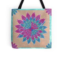 The floating flower Tote Bag