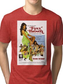 Foxy Brown (Green) Tri-blend T-Shirt