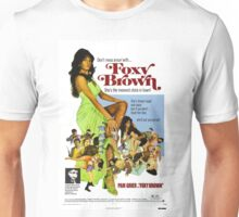 Foxy Brown (Green) Unisex T-Shirt
