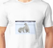 Polar Bear Stoush Unisex T-Shirt