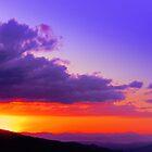 Rodeo Sunset Canton de Mora Costa Rica by Guy Tschiderer