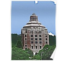 City Building, Asheville Poster
