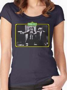Pulp Fiction Bert & Ernie Women's Fitted Scoop T-Shirt
