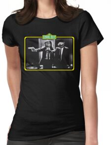 Pulp Fiction Bert & Ernie Womens Fitted T-Shirt