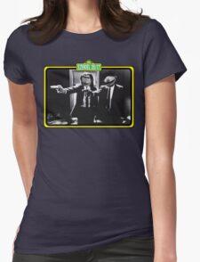 Pulp Fiction Bert & Ernie Womens Fitted T-Shirt