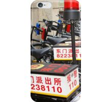 Police Bicycles  iPhone Case/Skin