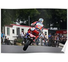 Shane Byrne heading for the cafe in style :) Poster
