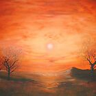 Red Dusk by Cherie Roe Dirksen