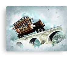 The Tabbytown Transport Canvas Print