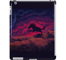 Stallion Galloping at twilight iPad Case/Skin
