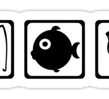 Fishing equipment Sticker
