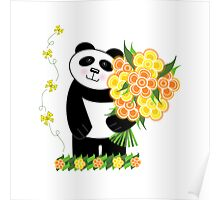 With Love Panda Poster