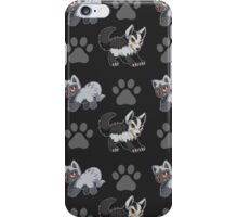 Dark Hyenas Pattern iPhone Case/Skin