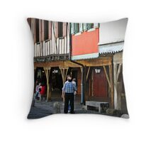 """ French History"" Throw Pillow"