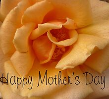 Happy Mother's Day, Yellow Rose by Peri
