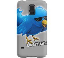 Tweet life Print Samsung Galaxy Case/Skin
