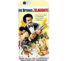 Slaughter (Yellow) iPhone Case/Skin