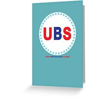 UBS Greeting Card
