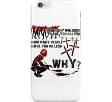 HOW MANY AND WHY? Light Shirts iPhone Case/Skin