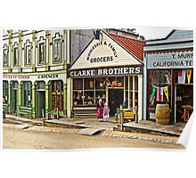 Sisters at Clarke Brothers - Main Street, Sovereign Hill Poster