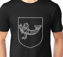 A Complete Guide to Heraldry - Figure 299 — Lion passant guard dimidiated with the hulk of a ship Unisex T-Shirt