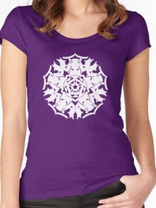 Hippo ZOOFLAKE Women's Fitted Scoop T-Shirt