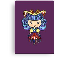 Lil' CutiE - Cha Cha Girl Canvas Print