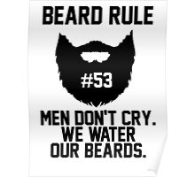 Beard Rule #53 Poster