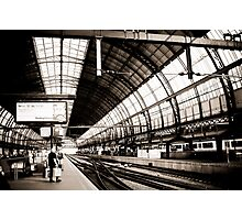 Sloterdijk Train Station, Amsterdam Photographic Print