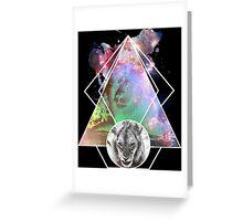 King Lion Greeting Card