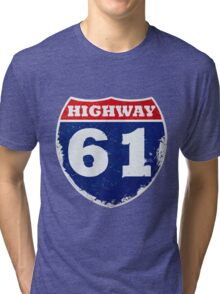 Highway 61 Revisited Tri-blend T-Shirt