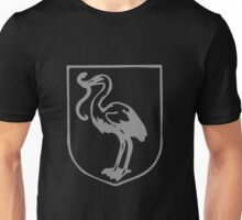 A Complete Guide to Heraldry - Figure 471 — Stork holding in its beak a snake Unisex T-Shirt