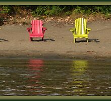 Beached Chairs by John Beamish