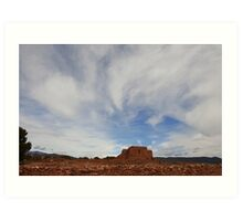 Pecos, New Mexico Art Print