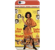 Friday Foster (Red) iPhone Case/Skin