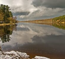 Roddlesworth Reservoir by Steve  Liptrot