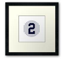 Derek Jeter #2 Framed Print