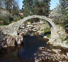 Packhorse Bridge, Carrbridge by Debz Kirk