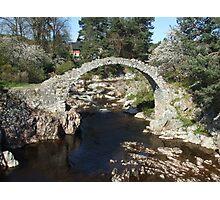 Packhorse Bridge, Carrbridge Photographic Print