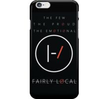 The Few, The Proud, The Emotional iPhone Case/Skin