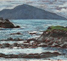 View to Croagh Patrick from Achill by Alice McMahon