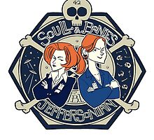 Scully & Bones Club by tumblebuggie