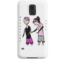 Breast Cancer Awareness Friends Samsung Galaxy Case/Skin