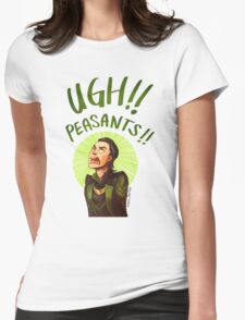 Ugh Peasants!! Womens Fitted T-Shirt