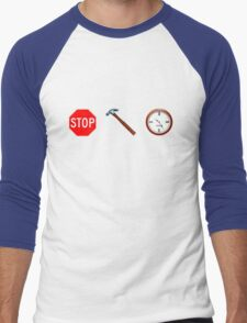 Stop! hammertime Men's Baseball ¾ T-Shirt
