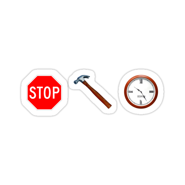 Stop! hammertime by Gavin King