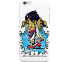 The Wind Is Blowing - Windwaker Fanart iPhone Case/Skin